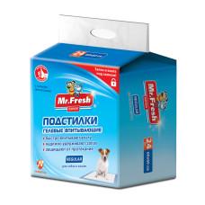 Mr.Fresh Regular- 60*60 см пеленки для ежедневного применения