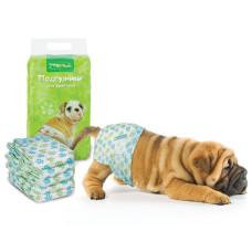 Купить DP03 Подгузник для собак M, вес собаки 7-16 кг (уп.12шт.)
