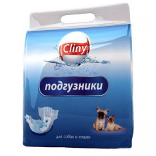 Купить Cliny подгузники гелевые для собак и кошек S (3-6 кг)