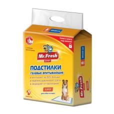 Mr.Fresh Super 60*60 см (8 шт) пеленки повышенной впитываемости