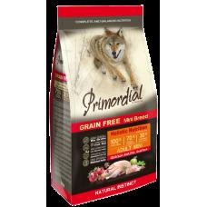 Primordial Grain Free Adult Mini Quail Duck беззерновой сухой корм класса холистик для взрослых собак мелких пород с перепелом и уткой