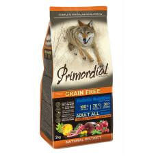 Купить Primordial Grain Free Adult All Breed Lamb Tuna беззерновой сухой корм класса холистик с ягнёнком и тунцом для взрослых собак всех пород