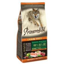 Купить Primordial Grain Free Adult All Breed Chicken Salmon беззерновой корм класса холистик для взрослых собак всех пород с курицей и лососем