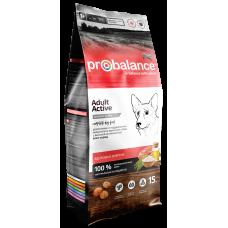 ProBalance Adult Active сухой корм для взрослых собак с высокой активностью