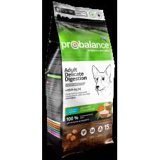 Купить ProBalance Delicate Digestion сухой корм с лососем и рисом для собак с чувствительным пищеварением