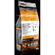 Купить ProBalance Immuno Adult Maxi сухой корм для взрослых собак крупных пород