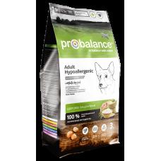 ProBalance Hypoallergenic for dogs сухой корм для взрослых собак с чувствительным пищеварением и склонных к аллергии
