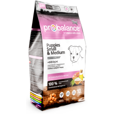 ProBalance Immuno Puppy Small & Medium сухой корм для щенков мелких и средних пород
