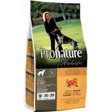 Pronature Holistic Adult Dog Duck&Orange Formula для взрослых собак всех пород беззерновой с уткой и апельсином