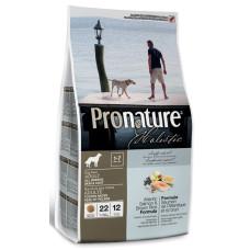 Pronature Holistic Adult Dog Atlantic Salmon&Brown Rice Formula для здоровья кожи и шерсти с лососем с рисом