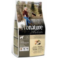 Pronature Holistic Senior для пожилых собак облегченный с океанической белой рыбой и рисом