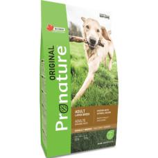 Pronature Original NEW Dog сухой корм с курицей и овсом для собак крупных пород