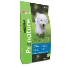 Pronature Original NEW сухой корм с курицей и овсом для взрослых собак всех пород