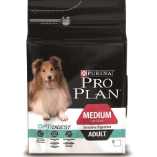 Купить Pro Plan Adult Medium Sensitive Digestion с ягненком для собак средних пород с чувствительным пищеварением