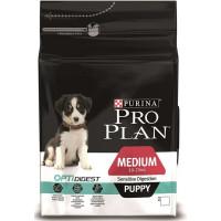 Pro Plan Puppy Medium Sensitive Digestion с ягненком для щенков средних пород с чувствительным пищеварением