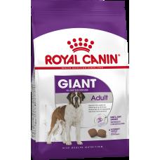 Купить Royal Canin Giant Adult корм для взрослых собак очень крупных пород старше 18/24 месяцев (вес взрослой собаки более 45 кг)