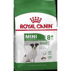 Royal Canin Mini Adult 8+ корм для собак мелких пород (вес взрослой собаки менее 10 кг) с 8 до 12 лет