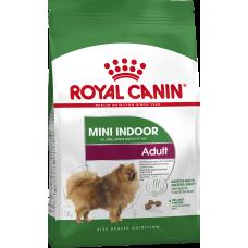 Royal Canin Mini Indoor Adult питание для взрослых собак в возрасте от 10 месяцев до 8 лет, живущих преимущественно в помещении (вес взрослой собаки до 10 кг)
