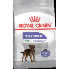 Royal Canin Mini Sterilised сухой корм для взрослых стерилизованных собак мелких пород