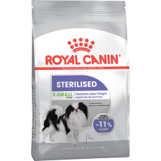 Royal Canin X-SMALL STERILISED корм для кастрированных или стерилизованных собак миниатюрных пород от 10 месяцев ( вес собаки до 4 кг )