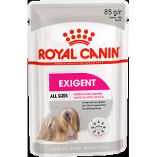 Royal Canin Exigent влажный корм для собак привередливых в питании (паштет)