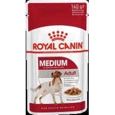 Купить Royal Canin Medium Adult влажный корм для собак с 12 месяцев до 10 лет (в соусе)