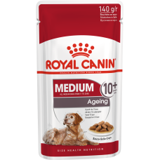 Купить Royal Canin Medium Ageing 10+ влажный корм для собак старше 10 лет (в соусе)