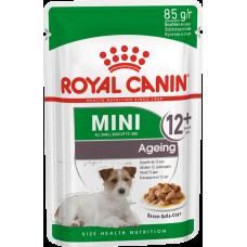 Купить Royal Canin Mini Ageing 12+ влажный корм для собак старше 12 лет (в соусе)