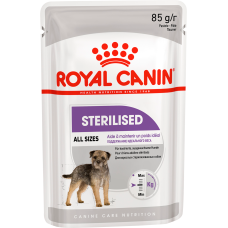 Royal Canin Sterilised влажный корм для стерилизованных собак (паштет)