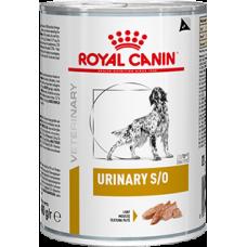 Royal Canin Urinary S/O Canine влажная диета для собак при мочекаменной болезни