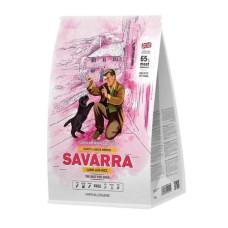 Купить Savarra Puppy Large Breed Holistic гипоаллергенный корм для щенков крупных пород (ягненок/рис)