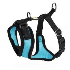 Hunter шлейка для собак Manoa S (38-47 см) нейлон/сетчатый текстиль цвет голубой, красный или черный