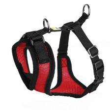 Hunter шлейка для собак Manoa M (44-55 см) нейлон/сетчатый текстиль цвет красный, черный или голубой