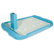 Купить PL002 Туалет для собак со столбиком 600*400*40мм