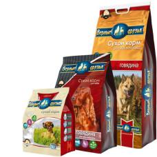 Купить Верные Друзья сбалансированный сухой корм с говядиной для взрослых собак всех пород