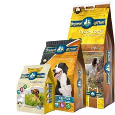 Купить Верные Друзья сбалансированный сухой корм с курицей для взрослых собак всех пород