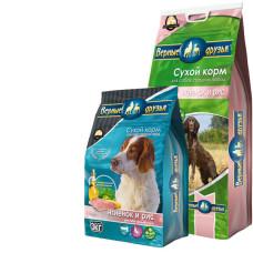 Верные Друзья сбалансированный сухой корм с ягненком и рисом для взрослых собак средних пород
