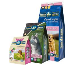 Купить Верные Друзья сбалансированный сухой корм с ягненком и рисом для взрослых собак всех пород