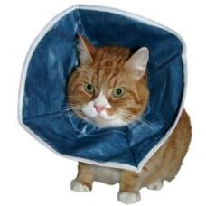 Kruuse защитный воротник для кошек и маленьких собак мягкий, диаметр горловины 12 см