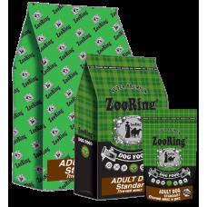 ZooRing Adult Dog Standart сухой корм из мяса птицы предназначен для взрослых собак средних и крупных пород