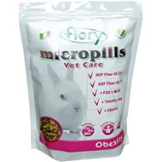 FIORY корм для карликовых кроликов с избыточным весом Micropills Vet Care Obesity