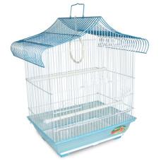 1607 Клетка для птиц, эмаль, 345*260*440мм