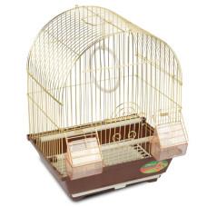 2100AG Клетка для птиц, золото, эмаль 300*230*390мм