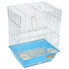 2105 Клетка для птиц эмаль, цинк 300*230*390мм