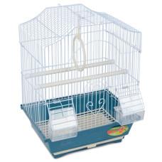Купить 2112A Клетка для птиц эмаль, цинк 300*230*390мм