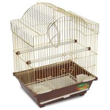 2113G Клетка для птиц, золото, 300*230*390мм