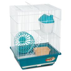 Купить 2103 Клетка для мелких животных, эмаль, 300*230*390мм