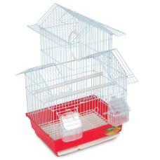 Клетка A1007G для птиц, золото, 300*230*470мм