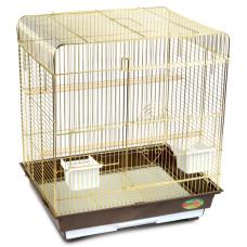 Купить Клетка 1302G для птиц, золото, 520*410*590мм