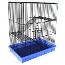 C1 Клетка для мелких животных, эмаль, 555*370*640мм